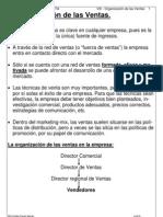 Organizacion de Las Ventas