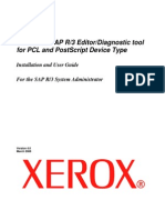 XeroxSAP Install Guide Device Type Tool V4 0