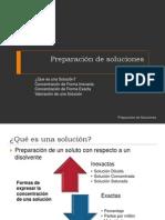 Preparación de solucionesDul