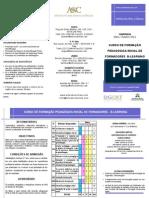 Folheto Curso FPIF Blearning