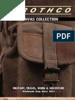 Rothco Canvas Bag Catalog
