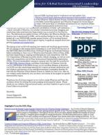 IGEL Fall Newsletter 2011