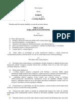 Uznesenie Vlády SR 693/2011 o novele Zákona o cestnej doprave 168/1996