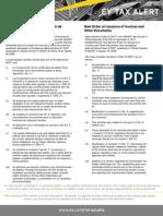 Tax Alert-Nueva Providencia N°0071 sobre Emisión de Facturas