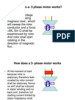 How Does a 3 Phase Motor Works