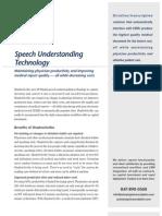 Speech Understanding Technology