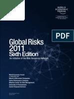 WEF Global-Risks 2011 (Wharton Center for Risk Management)