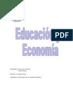 educacion y econimia