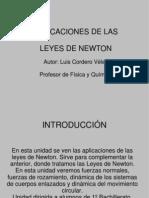 Aplicaciones Leyes Newton