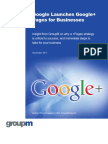 Google Launches Google+ Pages for Businesses