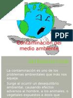 Contaminación del medio ambiente jhuly chavarria ccorihuaman