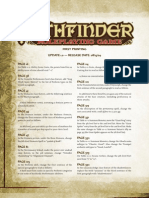 Pathfinder Errata 1.0