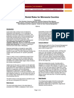 Minnesota Cropland Rental Rates Report 2011