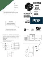 DHR5010-200D Hose Reel Schematic