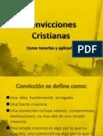Convicciones Cristianas