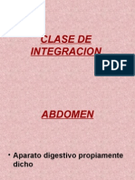 Clase de Integracion Abdomen y pèlvis