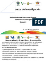 Fundamentos de Investigacion Unidad III
