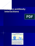 Antigen Antibody and T Interactions