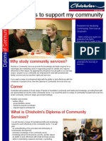 Community Services Flyer