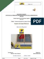Rapport de Stage Barid El Maghrib