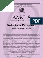 2007 AMC 8 Practice Test Solutions