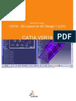 CATIA - 2D Layout for 3D Design 1 (LOI)
