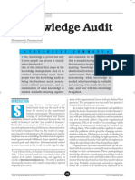 The Knowledge Audit