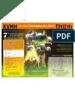 KVMH GOLF Tournament Flyer Thanksgiving
