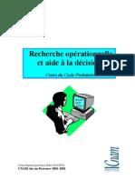 Recherche Opérationelle