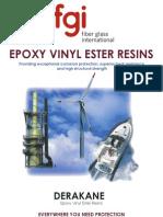 Derakane Epoxy Vinyl Esters