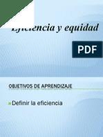 Eficiencia y Equidad