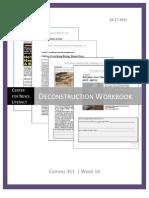 Deconstruction Workbook