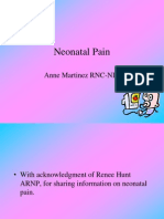 2011 Pain in the Neonate