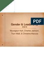 women  leadership presentation 11-9-11