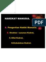 2_HAKEKAT MANUSIA. #