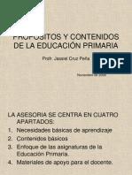 Propositos de La Educacion Primaria