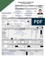 Formato Solicitud Empleo Hcc