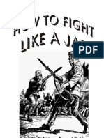 Japanese Bayonet Fighting Manual