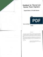 Handbook of Thermal&NuclearEngineering
