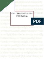 Dante Bobadilla - Epistemología de la psicología