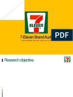 7-Eleven Brand Audit Presentation