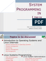 System Programming in Linux