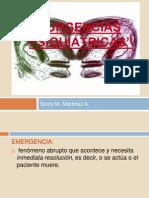 Emergencias psiquiatricas