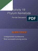 Activity 19_ppt Phylum Nematoda