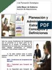 01-Conceptos Basicos de Planeacion y Admin is Trac Ion Estrategica en Sector Publico