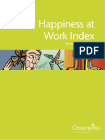 Happiness at Work Index 2007
