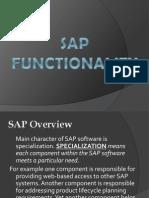 SAP Functionality