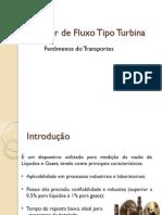 Medidor de Fluxo Tipo Turbina