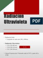 Radiación Ultravioleta (efectos)