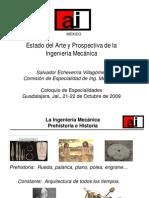 Estado Del Arte y Prospectiva de La Ing Mecanica